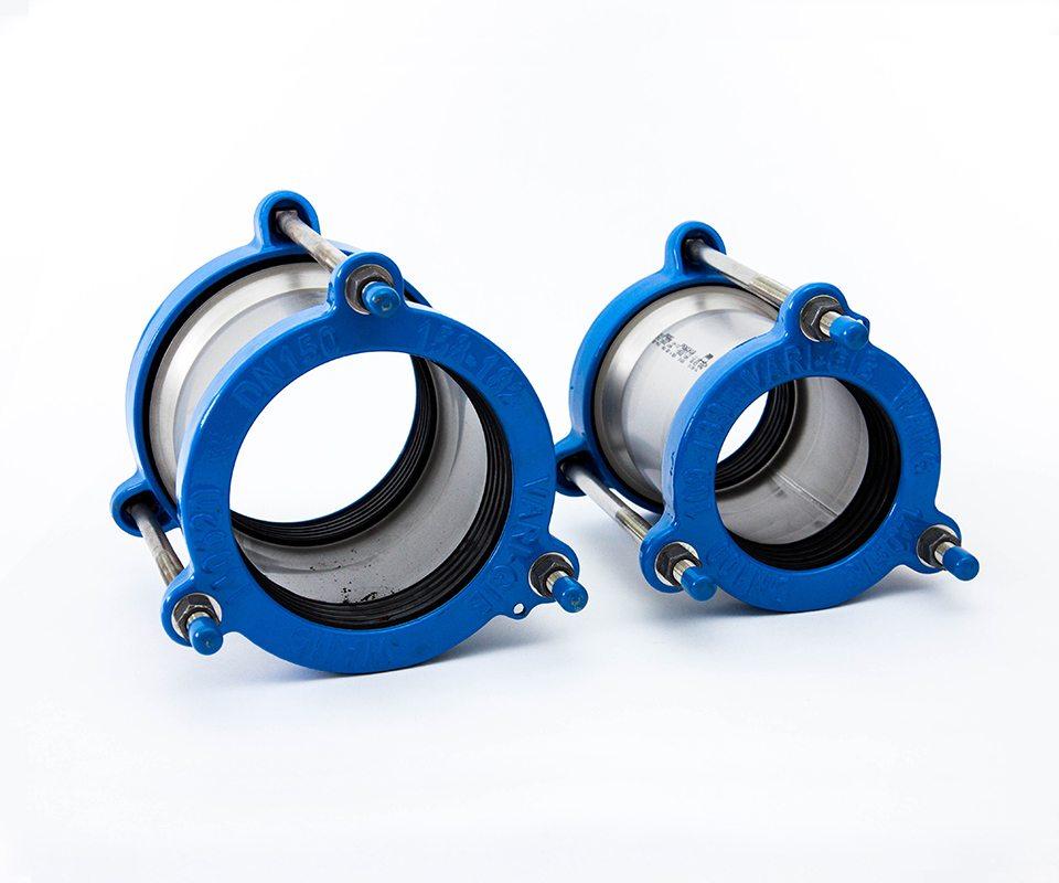 Pipe repair fittings turbo reel irrigation