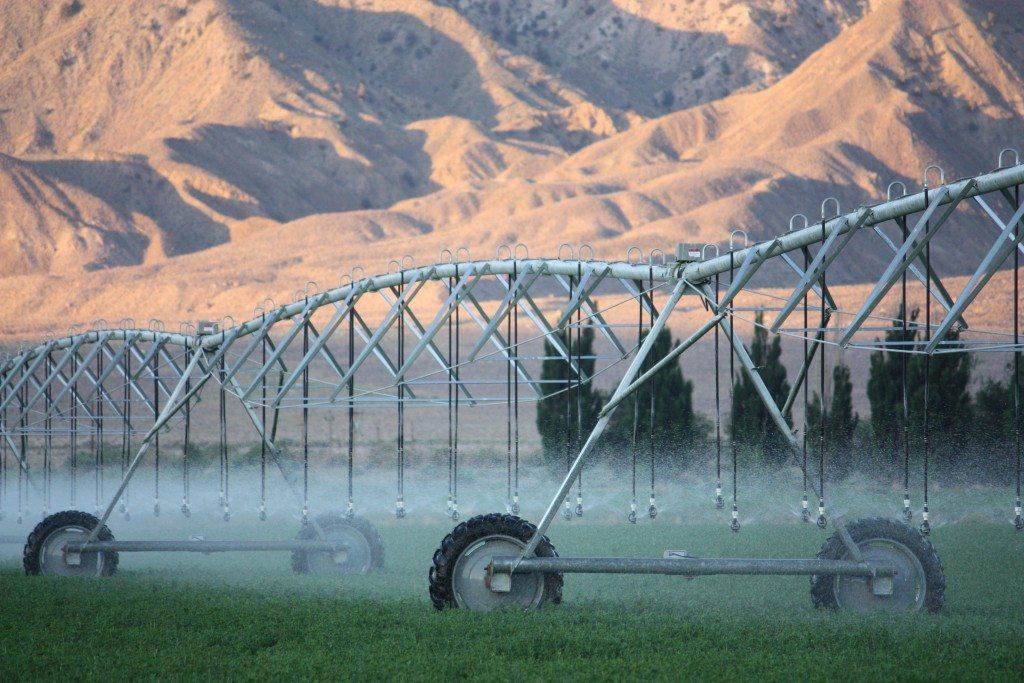 Reinke Turbo Reel Irrigation
