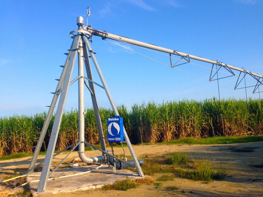Pivot Turbo Reel Irrigation